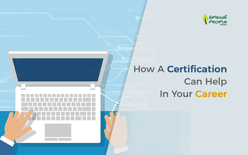 Certification to boost your career