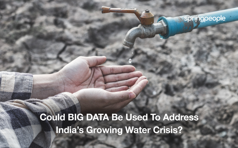 Could BIGDATA Be Used To Address India Growing Water Crisis