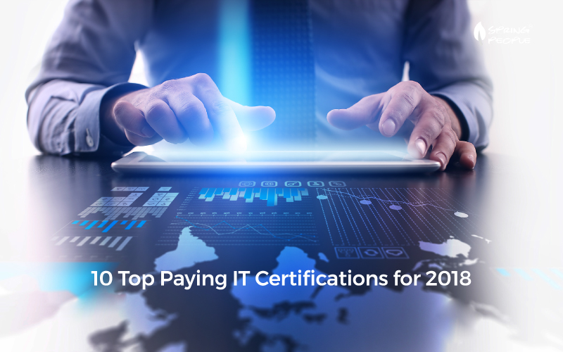10 Top Paying Certifications for 2018