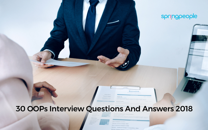 OOPs Interview Questions And Answers 2018