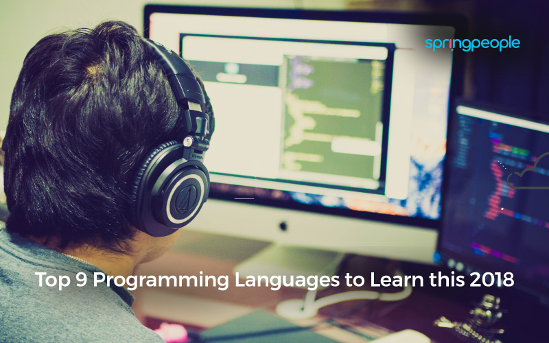 top programming languages 2018