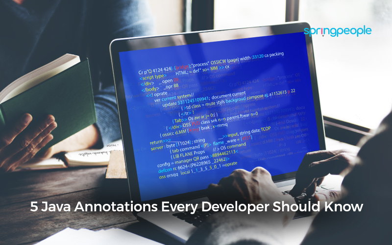 java annotations uses