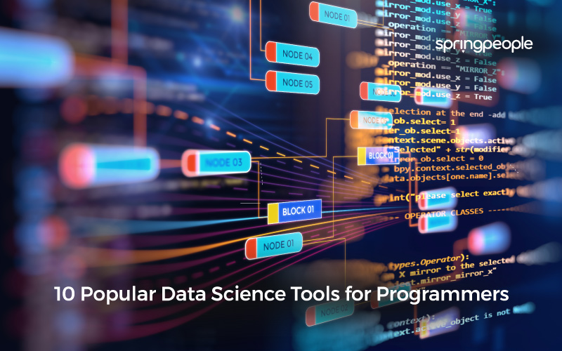 10 Popular Data Science Tools­­ for Programmers