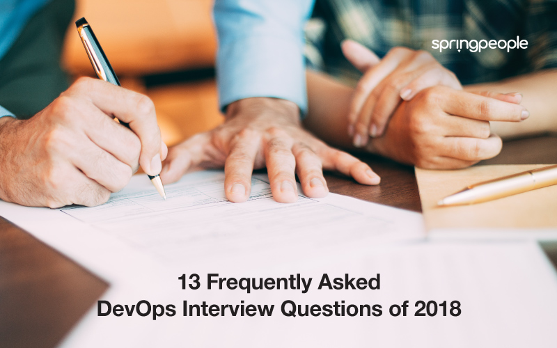DevOps Interview Questions of 2018