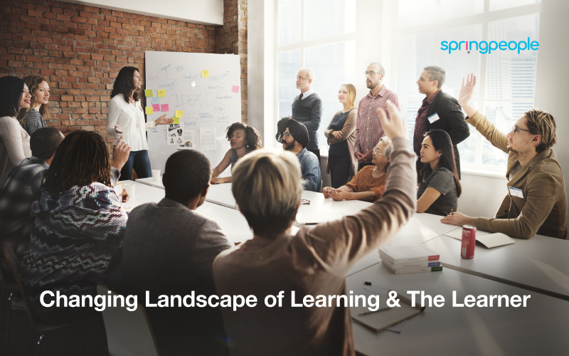 Changing Landscape of Learning & The Learner