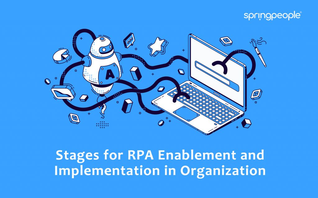 Stages for RPA Enablement and Implementation in Organization